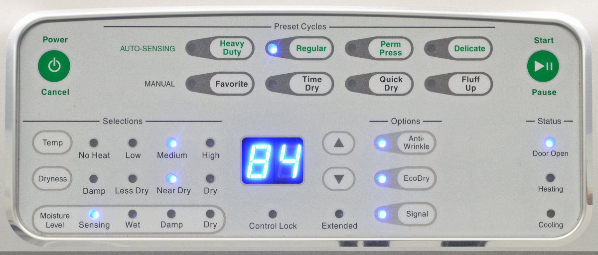Máy giặt sấy 2 tầng dùng điện – STEBXASP303NW22