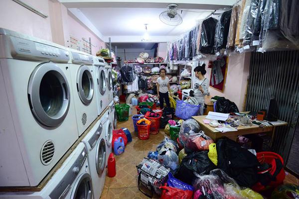5 vấn đề giúp mở tiệm giặt là với số vốn ít đem lãi lớn