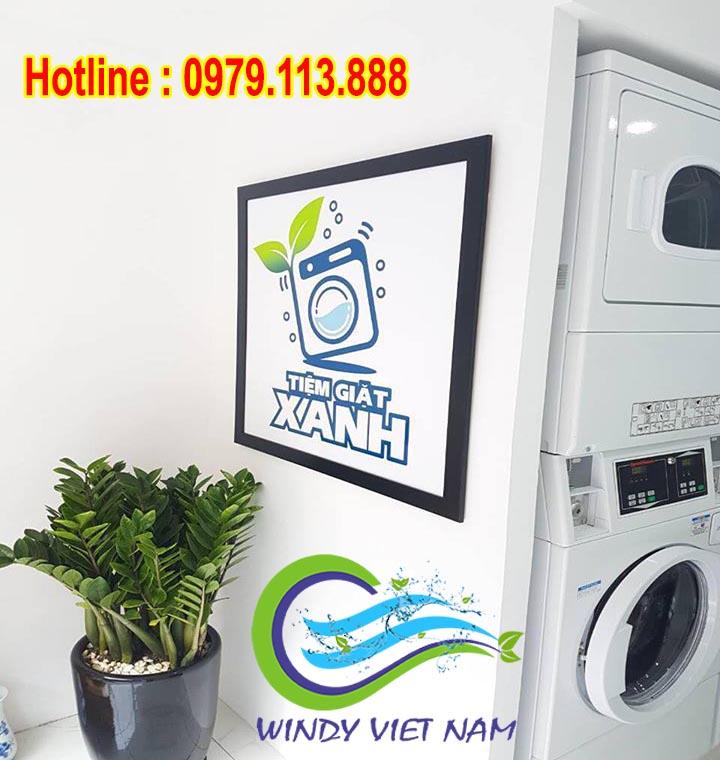 Setup hệ thống giặt là tự động tại Khương Trung – Hà Nội