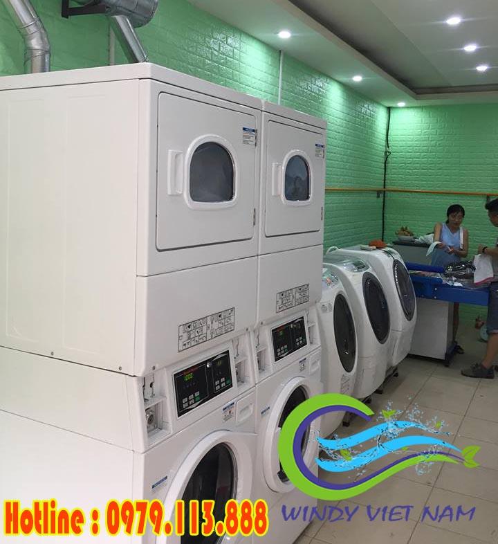 Dự án lắp đặt tiệm giặt là tự động tại Lò Sũ – Hà Nội