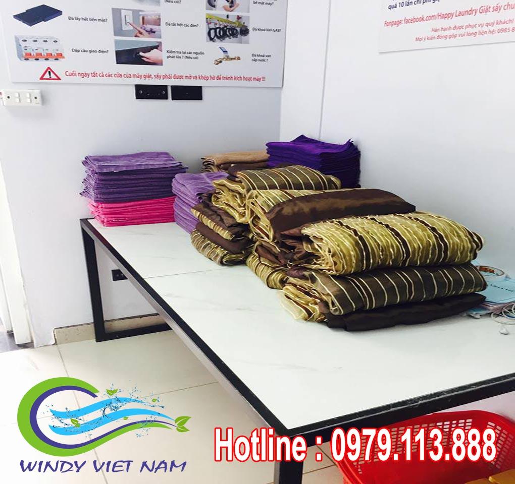 Hình ảnh dự án hệ thống giặt là tại Cổ Nhuế – Hà Nội