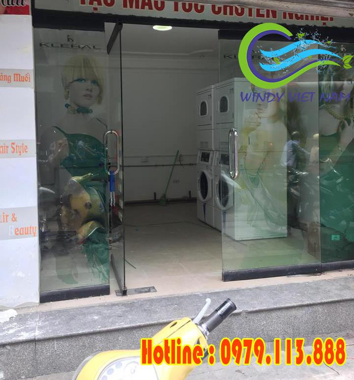 Lắp đặt tiệm giặt là tự động tại Nguyễn Hữu Huân – Hà Nội