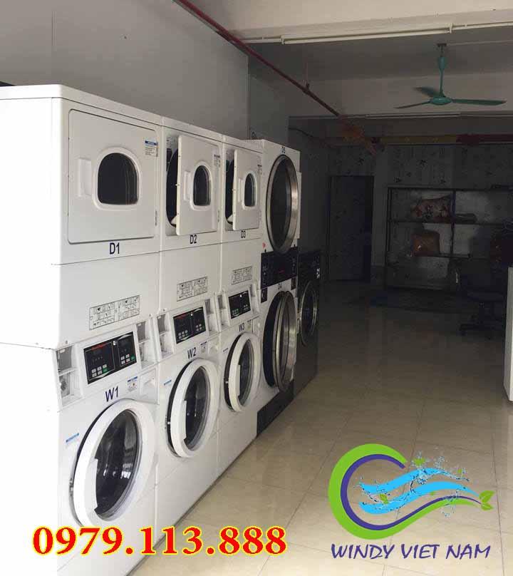 Dự án lắp đặt hệ thống tiệm giặt là tự động tại Ecohome 1