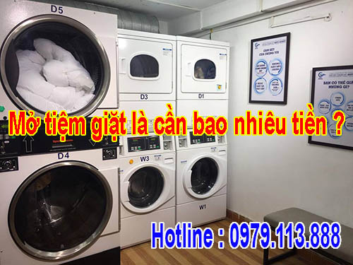 Mở tiệm giặt là cần bao nhiêu tiền ? Những điều cần biết khi mở tiệm giặt
