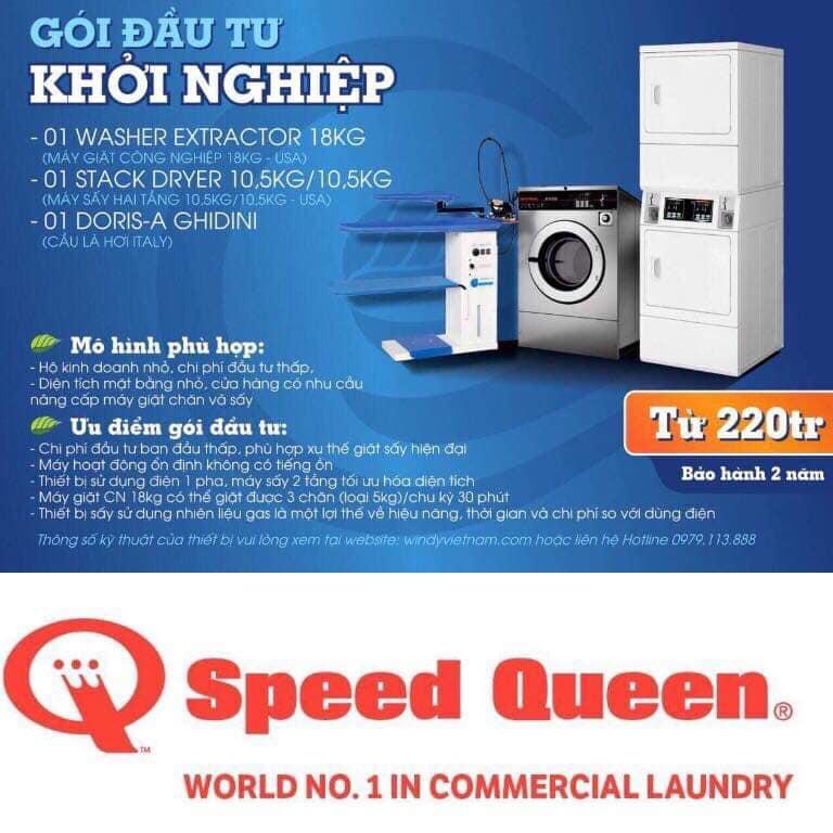 Máy giặt công nghiệp 10kg thương hiệu nào tốt ? Mua ở đâu rẻ ?