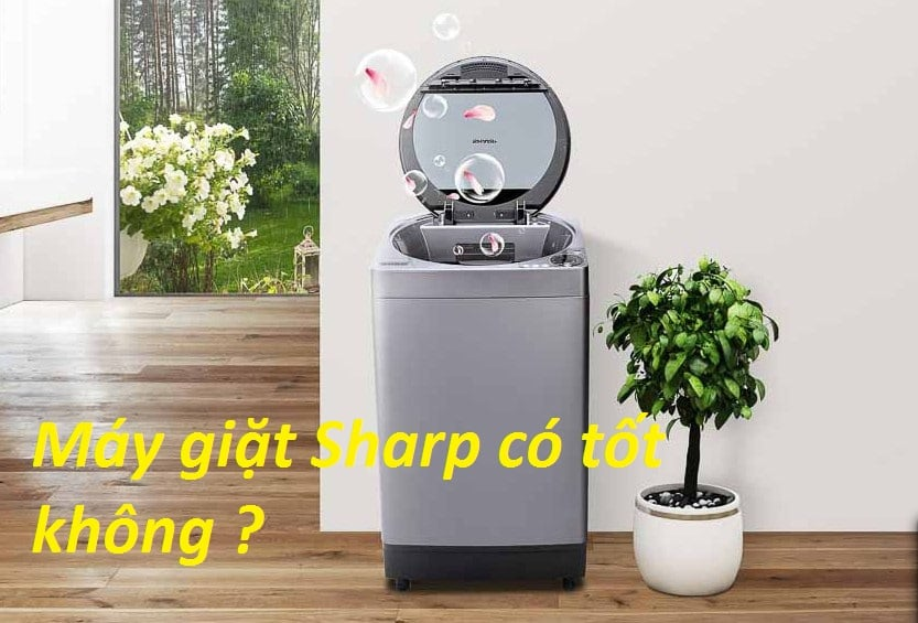 Đánh giá máy giặt Sharp có tốt không ? Cách chọn mua tốt nhất