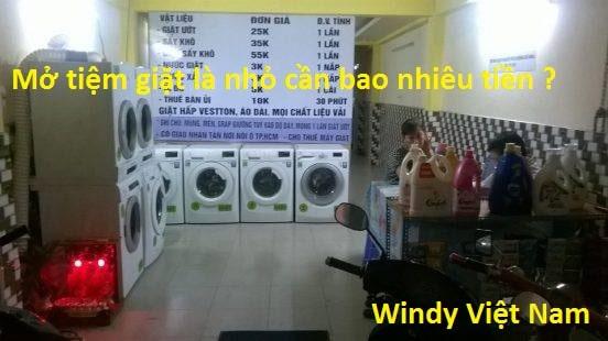 Mở tiệm giặt là nhỏ cần bao nhiêu vốn ? Cần làm gì khi mở tiệm giặt là ?