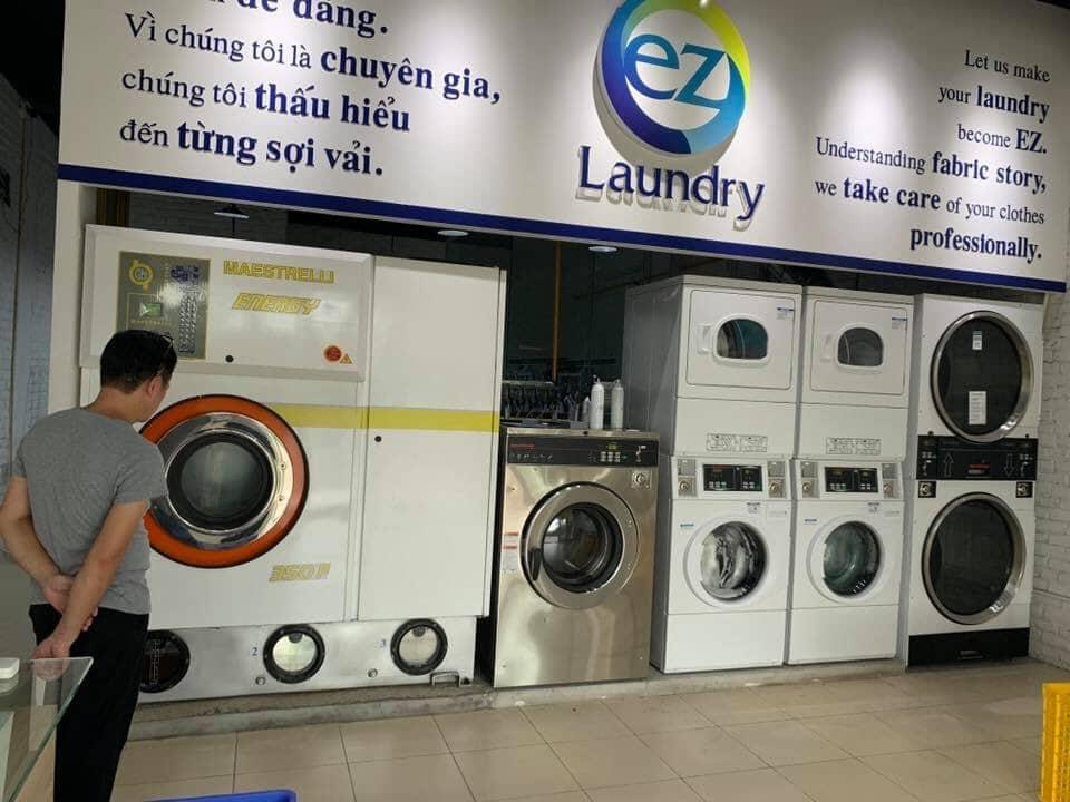 Windy cung cấp hệ thống thiết bị giặt là cho EZ Laundry